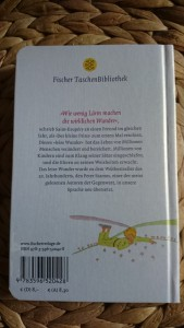 Taschenbuch Der kleine Prinz Rückansicht