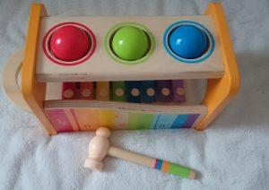 Xylophon und Hammerspiel